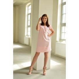 Sukienka Meggie pudrowa 38-48