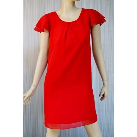 Sukienka Meggie czerwona 38-46