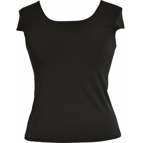 Bluzka TOP MARIE - kolory: biała, ecru i czarna - uszyta w Studio Mody MARIE