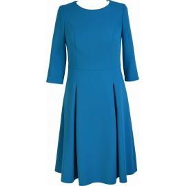 Sukienka A-Model turkusowa