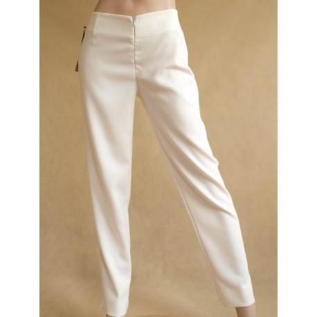 Spodnie białe MARIE
