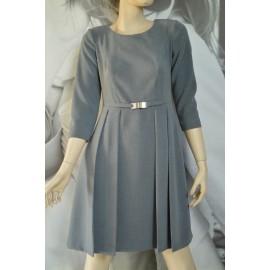 Sukienka Rimini popielata