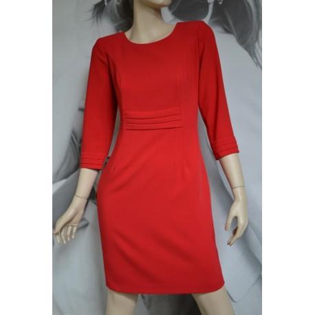 Sukienka zakładki MARIE