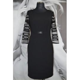 Sukienka Mała Czarna MARIE - zaprojektowana i uszyta w Studio Mody MARIE w Toruniu