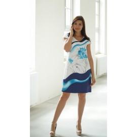 Sukienka Oceanic trapezowa