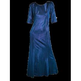 Suknia Hollywood kobaltowa - długa